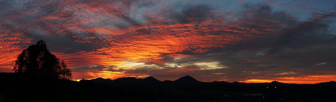 Beautiful Ramona Sunset!
